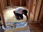 Living Room Floor in Progress