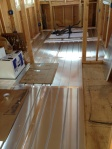Radiant Floor Panels and Tubing Down
