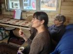 Alex & Sallie - Tea and Chatting